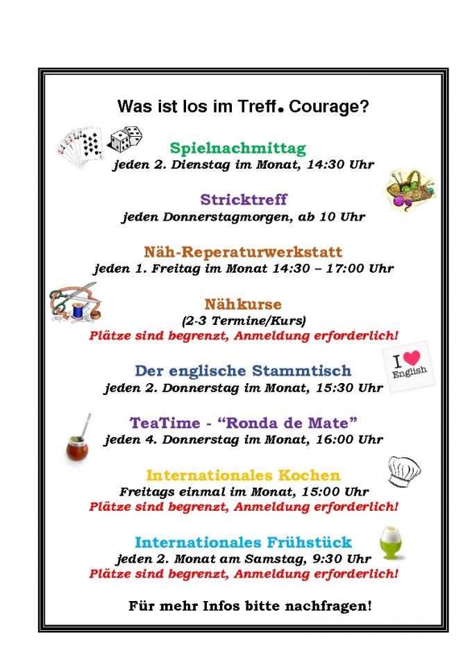 Courage Programm